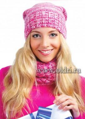 шапочка для женщин спицами