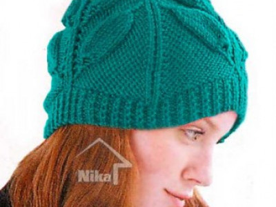 Вязание шапок - схемы и описания