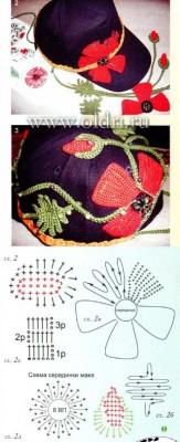 Вязание шапок крючком