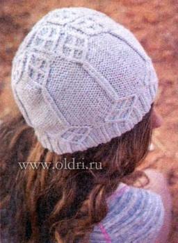 Вязание шапок для женщин