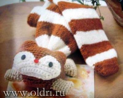 шарф игрушка
